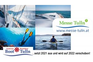 Boot Tulln verschoben auf 2022