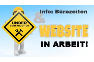 Neue Website befindet sich im Aufbau