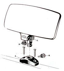 Wasserski-Spiegel, universal