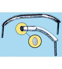 Handlauf mit ovalem Rohr