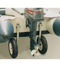Schlauchbooträder z. Hochklappen, Heckräder verstärkte Ausführung, NIROSTA