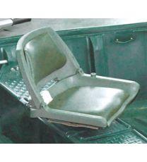 Ruderboot ARMOR Zubehör, Fischersitz, gebrochen-weiß