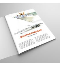 Prospekt PONGRATZ Motorboot-Anhänger