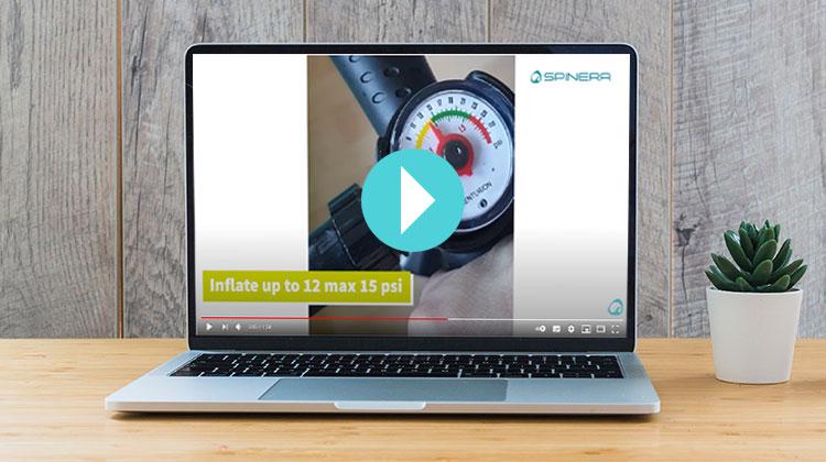 SPINERA Stand Up Paddle ▶ Video zum Erstgebrauch